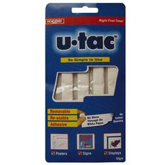 Holdfast U-Tac Removable Adhesive 50g White
