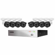 Uniden Dvr 8 Ch System 8 1080P Bull Cam Silver