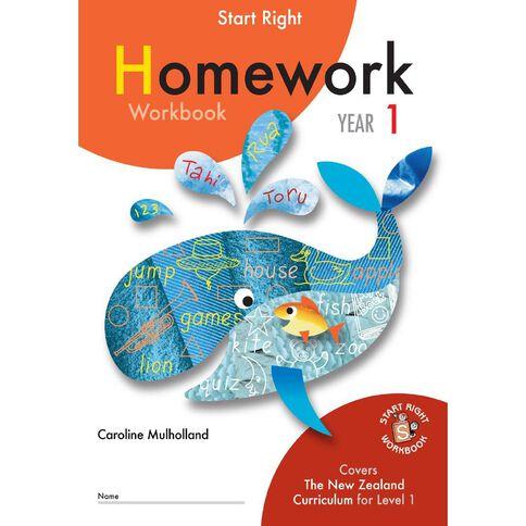 Year 1 Homework Workbook