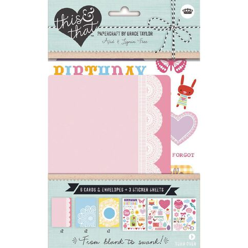 This & That Lace Cards and Envelopes