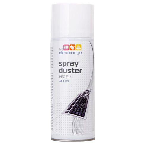The Clean Range Spray Duster 400ml HFC Free White