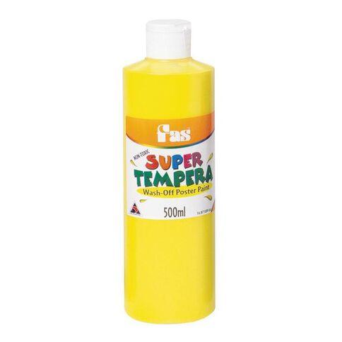 FAS Fas Paint Super Tempera 500ml Yellow