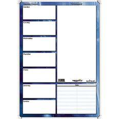 Writeraze Qc2 Weekly Planner Perpetual 500 x 700mm