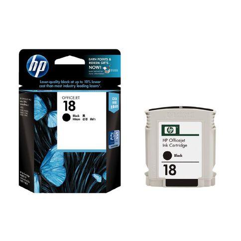HP Ink Cartridge 18 Black