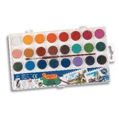 Jovi Watercolours 24 Pack Multi-Coloured
