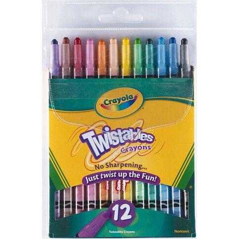 Crayola Twistable Crayons 12 Pack