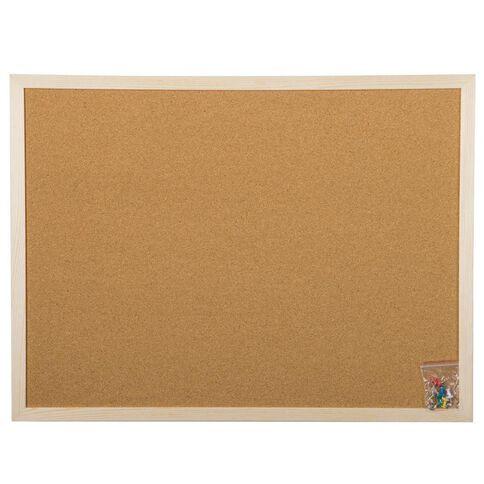 Workspace Corkboard 450 x 600mm Brown