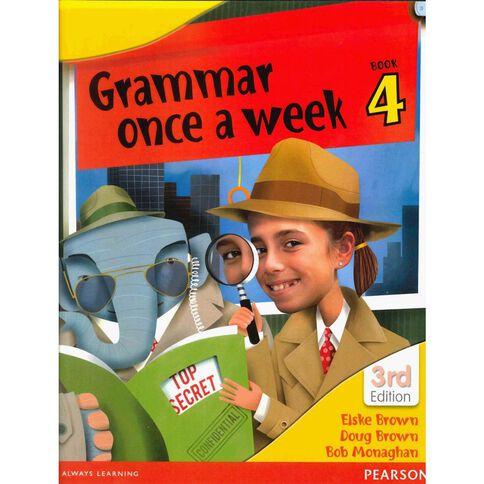 Year 4 Grammar Once A Week 4