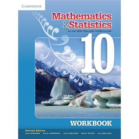 Year 10 Mathematics And Statistics For Nz Curriculum Workbook