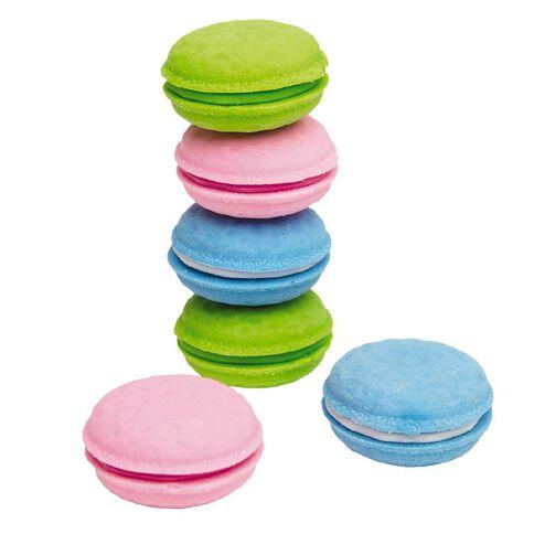 Kookie Macaroon Erasers Multi-Coloured