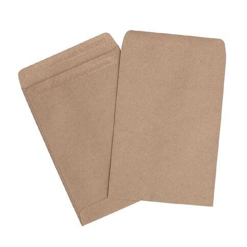 Impact Envelope E4 Wage Self Seal 100 Pack Brown