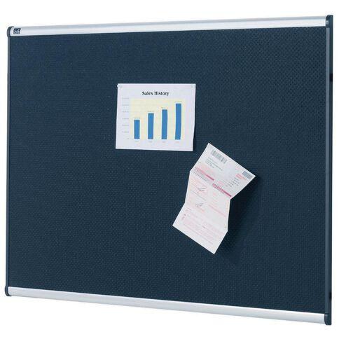 Quartet Prestige Pinboard 1800 x 1200mm Black
