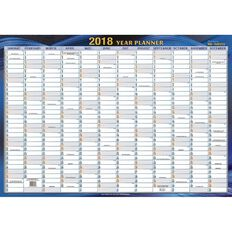 2018 Non Laminated Planner QC 700 x 1000mm