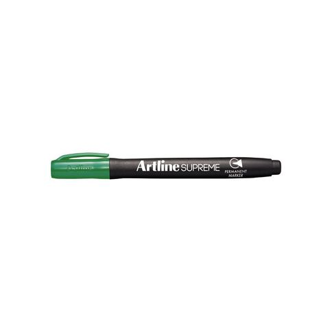 Artline Supreme Permanent Marker Green 500ml