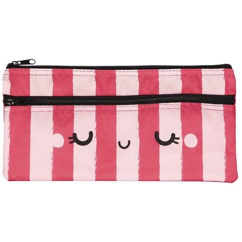 Kookie Sweets Flat Pencil Case Pink