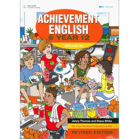 Ncea Year 12 Achievement English