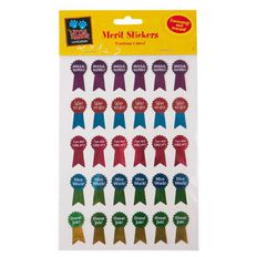 Little Hands Learning Merit Stickers Foil Medals