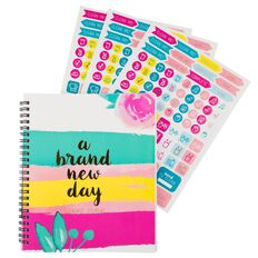 Uniti Bloom Spring Clean Journal Multi-Coloured