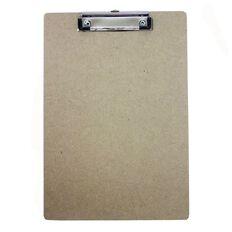 Hardboard Clipboard Brown A4