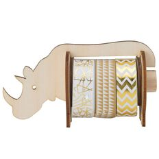 Natural Glam Washi Tape Rhino Dispenser