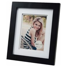 Living 9 x 11 Photo Frame Black