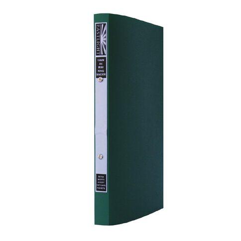Marbig Ringbinder Mini 16mm 2O Ring Green A4