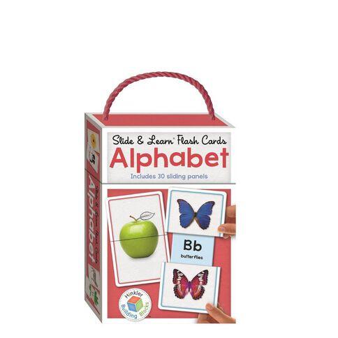 Building Blocks: Slide & Learn Flash Cards Asst