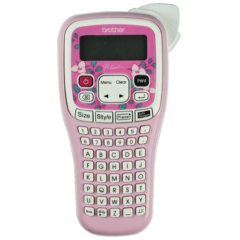 Brother Label Maker P-Touch Pth105 Pink