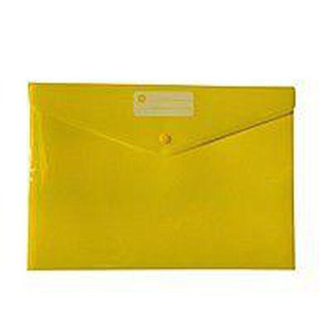 Impact Document Envelope Dome Yellow