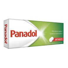 Panadol Tablets 20 Pack - Limit of 1 Per Customer