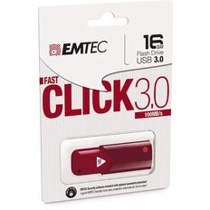 Emtec Usb3.0 B100 16Gb Red