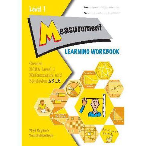 Ncea Year 11 Measurements As1.5 Learning Workbook