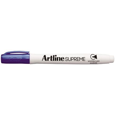 Artline Supreme Whiteboard Marker Purple