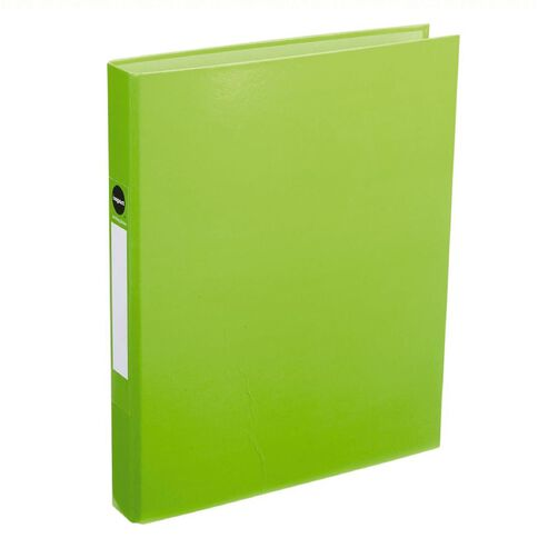 Impact Ringbinder 2D 25mm Green A4