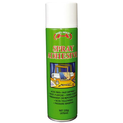 Helmar Adhesive Spray 330G Multi-Coloured