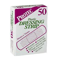 Protec Finger Dressings 50 Pack