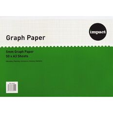 Impact Graph Pad A3 5Mm Ruling White