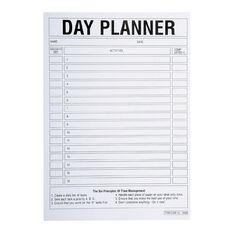Brenex Day Planner Pad 50 Leaf White A5