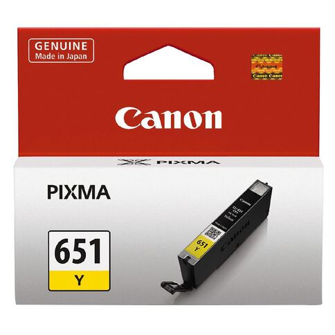 Canon Ink Cartridge CLI655 Yellow