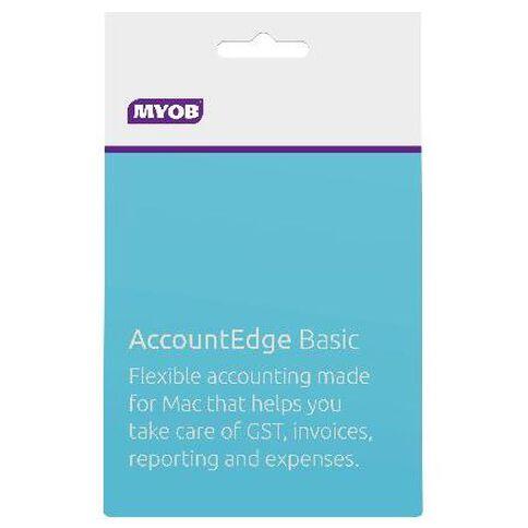 Myob Accountedge Basic Activation Card