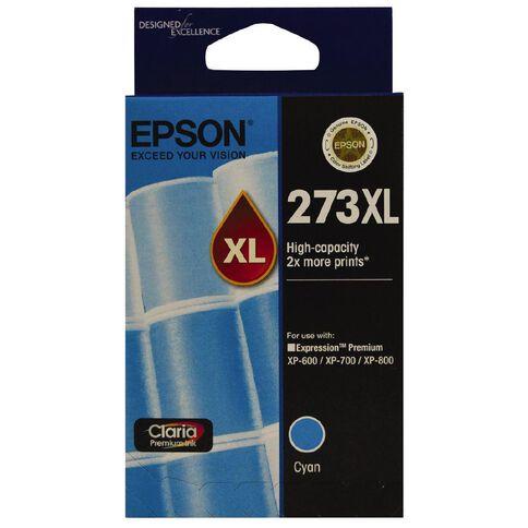Epson Ink Cartridge 273XL Cyan