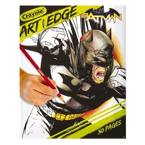 Art With Edge Batman Colouring Book