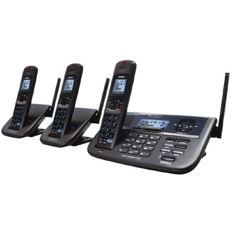 Uniden Xdect R055+2 Extended Range Cordless Phone Grey