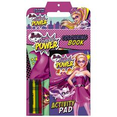 Barbie Princess Power Colour and Activity Pack