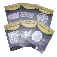 Ultimate Crafts Rambling Rose Dies Assorted 3