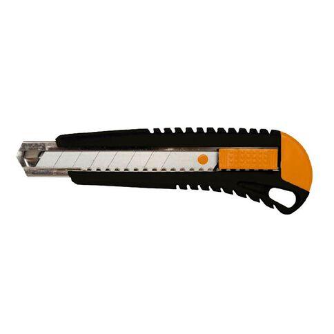 Fiskars Straight Cutting Knife 18mm Silver