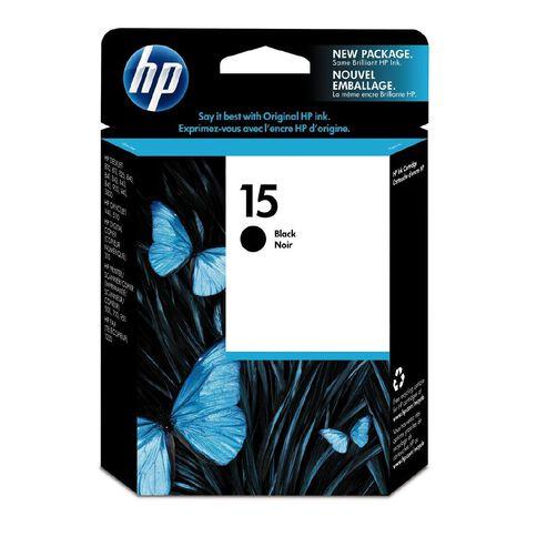 HP Ink Cartridge 15 Black
