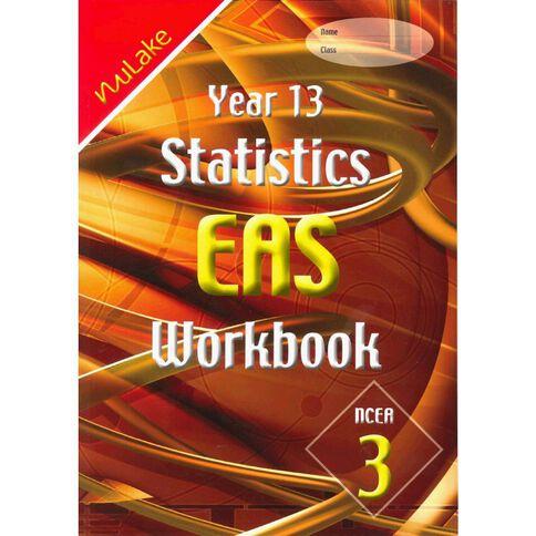 Nulake Year 13 Mathematics Eas Statistics Workbook
