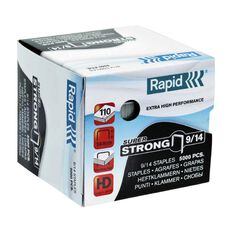Rapid Staples 9/14 5000 Pack Silver