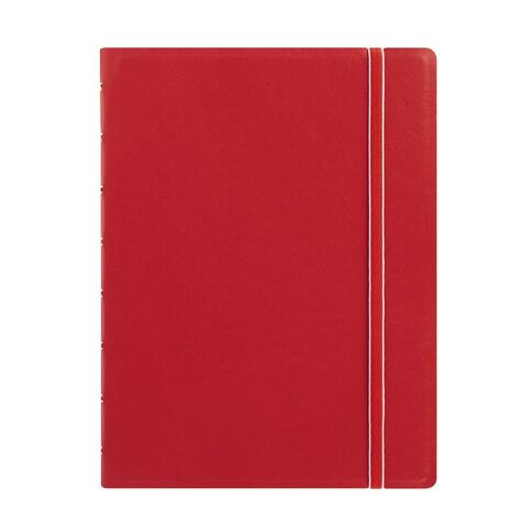 Filofax Refillable Notebook Red A5